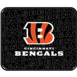 Cincinnati Bengals Car Mats, Rear, Heavy Duty PVC Rubber Twin pack